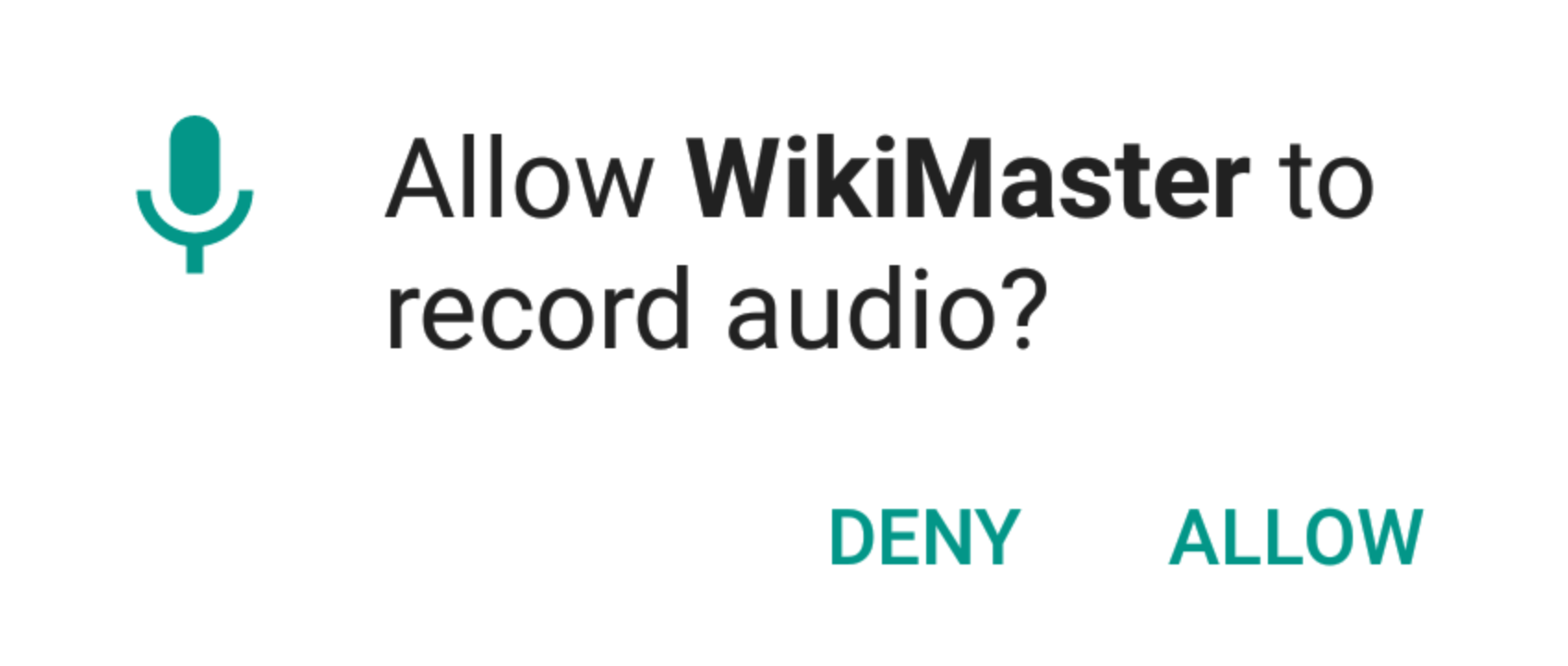 Command WikiMaster Quizzes with your voice